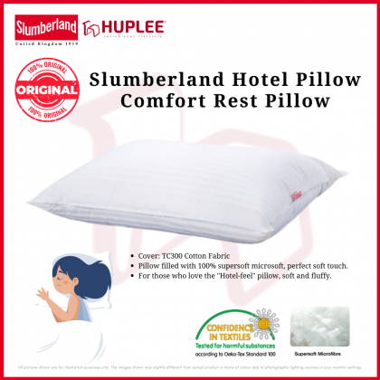 Slumberland Comfort Rest Pillow Hotel Bantal